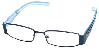 Angle of The Key Largo in Blue Frame, Women's and Men's