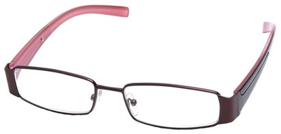 Angle of The Key Largo in Bronze and Pink Frame, Women's and Men's