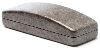 Angle of Glitter Reading Glasses Case in Bronze, Women's  Hard Cases
