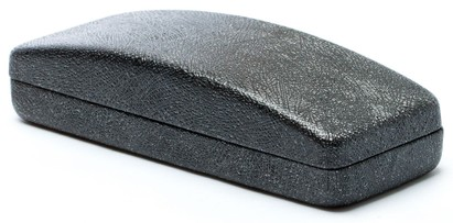 Angle of Glitter Reading Glasses Case in Black, Women's  Hard Cases