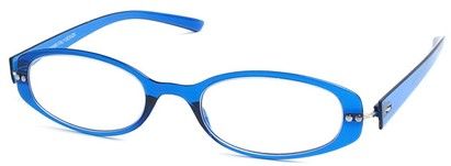 Angle of The Dixon Flexible Reader in Blue, Women's and Men's