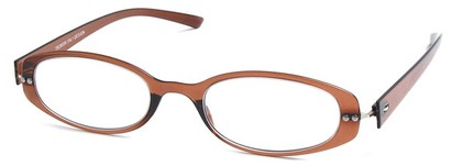 Angle of The Dixon Flexible Reader in Brown, Women's and Men's