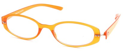 Angle of The Dixon Flexible Reader in Orange, Women's and Men's