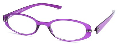 Angle of The Dixon Flexible Reader in Purple, Women's and Men's