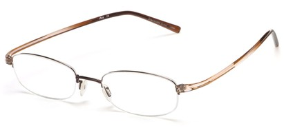 Angle of The Lawrence Flexible Reader in Brown, Women's and Men's