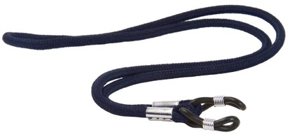Angle of Classic Neck Cord in Navy Blue, Women's and Men's  Neck Cords
