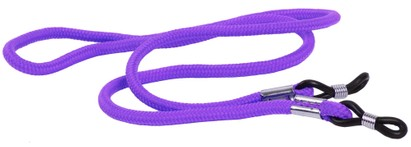 Angle of Classic Neck Cord in Purple, Women's and Men's  Neck Cords