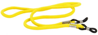 Angle of Classic Neck Cord in Yellow, Women's and Men's  Neck Cords