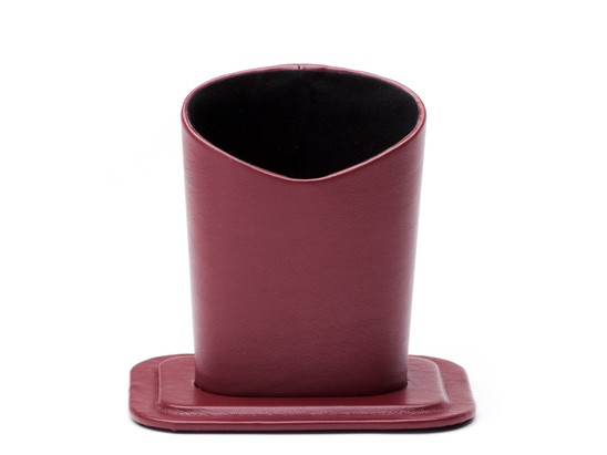 Angle of Table Top Reading Glasses Holder in Dark Red, Women's and Men's  Hard Cases