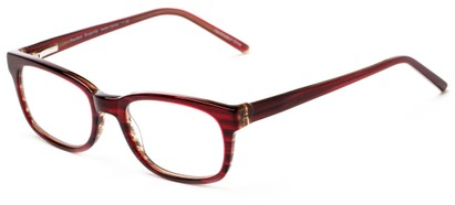 Angle of The Thyme in Burgundy, Women's and Men's Retro Square Reading Glasses