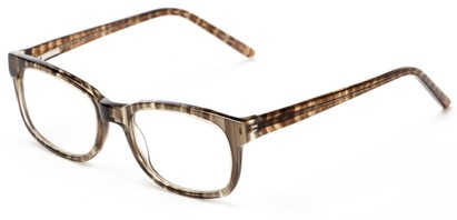 Angle of The Thyme in Grey, Women's and Men's Retro Square Reading Glasses